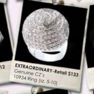 Jewels By Park Lane Extraordinary Ring NWT